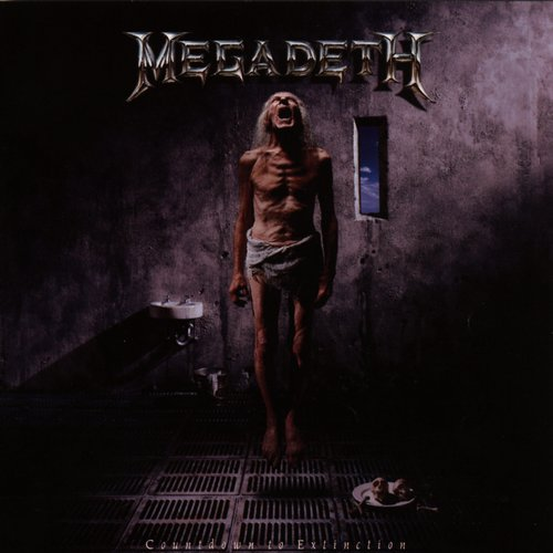 Megadeth Album Covers Countdown To Extinction  1992