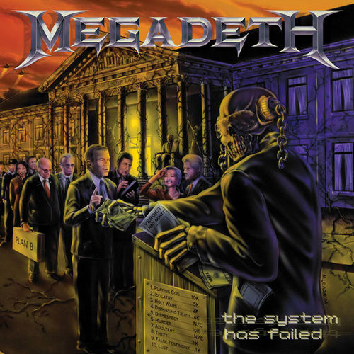 Megadeth Album Covers The System Has Failed  2004